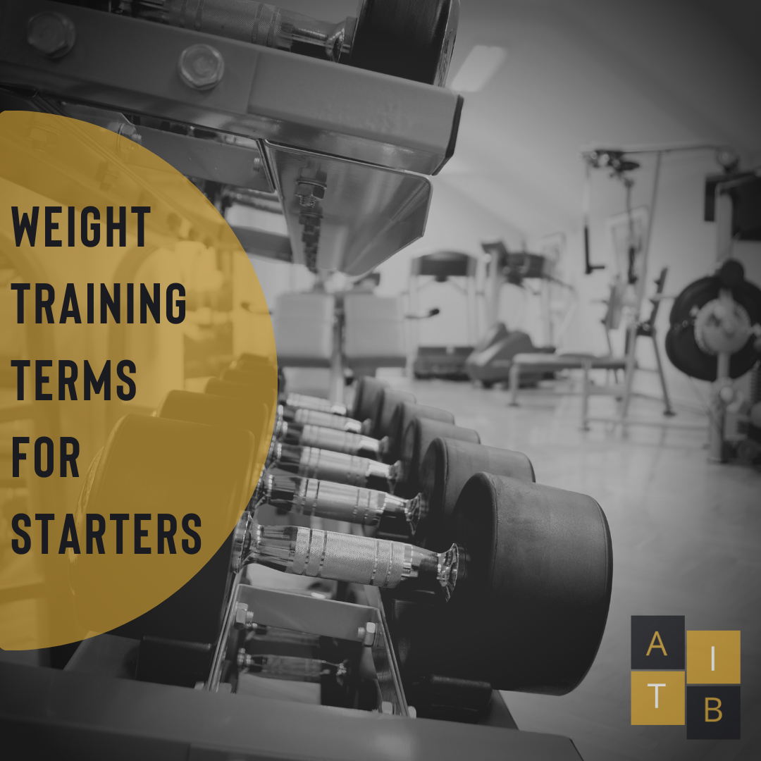Weight Training Terms