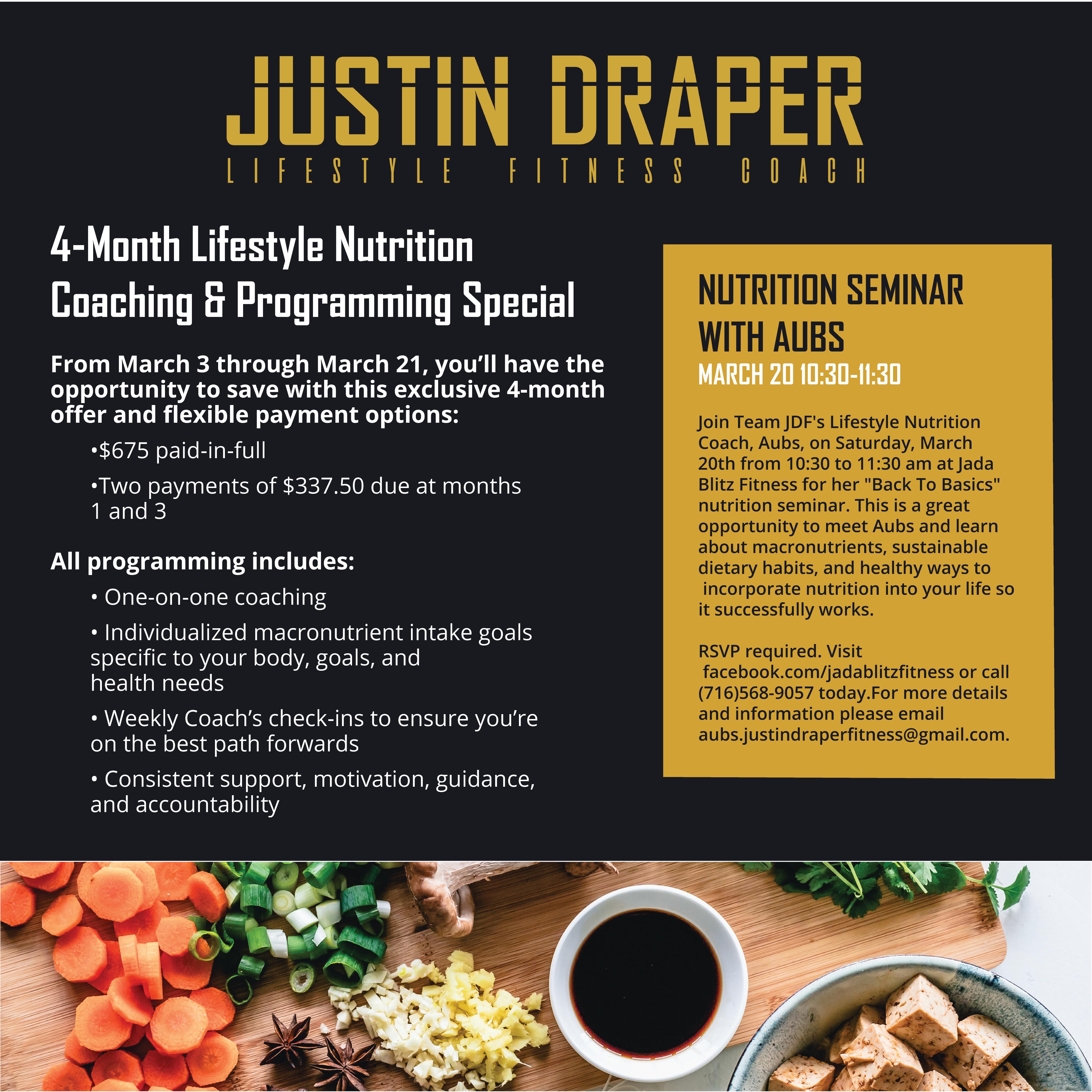 march nutrition program